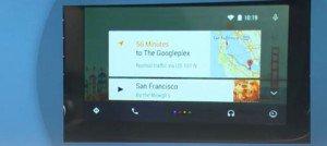 Googel Auto Navigation mit Sprachsteuerung: Google I/O 2014: Bildquelle: mashable.com