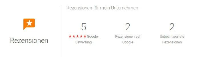 Google Bewertungen für Ihr Unternehmen